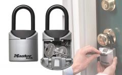 Master Lock Sleutelkluis Met beugel - XS X-Small grijs