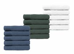The One 5-Pack Handdoeken 70x140 - Verschillende Handdoeken