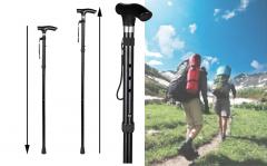 Uitschuifbare wandelstok 82-92 cm