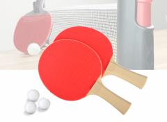 Tafeltennis Set - Incl. Batjes & Uitschuifbaar Net