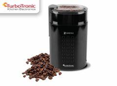 TurboTronic TT-CG5 Electrische Koffiemolen Zwart