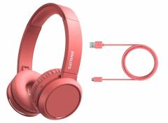 Philips 4000 series - Rood - Draadloze koptelefoon