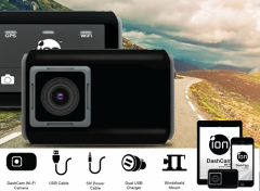 iON Dashcam - Super HD | Wide Angle | GPS | WiFi
