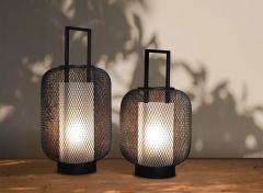 FlinQ Set Van 2 Sfeervolle LED Lantaarns - Voor Binnen Of In De Tuin