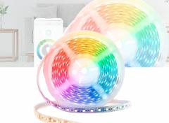 Nedis Slimme Wifi ledstrip   Full Colour En Warm- Tot Koudwit   5 m