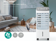 Nedis Air Cooler - 3 L - 270 m³/h - Timer - Remote Control