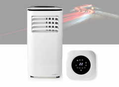 Nedis Mobiele Airconditioner | 9000 BTU | Geschikt voor ruimtes tot 24 m2 | 2 Snelheden
