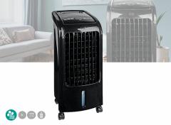 Nedis Mobiele Aircooler | Watertankcapaciteit: 3 l | 3 Snelheden | 270 m³/h | Zwenkfunctie | Afstandsbediening | Zwart