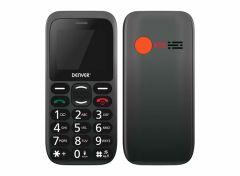 Denver BAS-18300M - GSM - Senioren mobiele telefoon - 2G - SOS knop - Oplaadstation