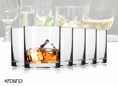 Krosno Balance Collection - Whiskyglazen - Set van 6 - 220ml
