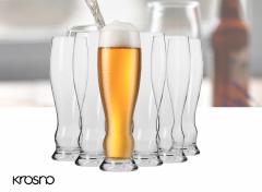 Krosno Splendour Collection Bierglazen - Set van 6 - 500ml