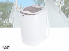 Adler AD8055 - Mini wasmachine met centrifuge