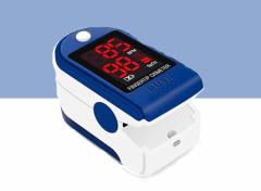 Digitale Pulse Oximeter - Saturatiemeter - Blauw