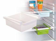 Koelkast organizer - Wit - Keuken - 2 stuks