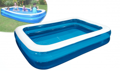 Familiezwembad rechthoek 2 rings