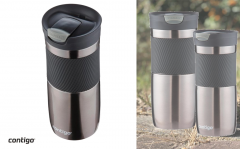 Contigo Byron Snapseal Thermosbeker To Go - 470 ml - Grijs