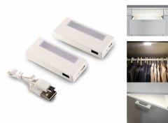 Smartwares oplaadbare kast lampjes - 2 stuks