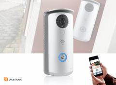 Smartwares Draadloze Video Deurbel -720p HD - WIFI of LAN