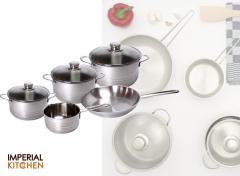 Imperial Kitchen Pannenset - 5-delig - RVS
