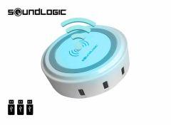 Soundlogic draadloze oplader inclusief 3 usb-poorten