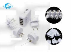 Bellson USB Wereldstekker