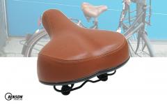 Benson comfort fietszadel bruin