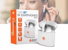 Dutch Originals In-ear headphones met TWS-functie - Wit