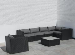 Intimo Garden Levanzo Loungeset – Zwart