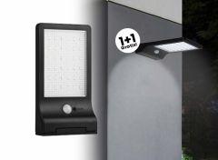 Hofftech solar led wandlamp met sensor 1+1 GRATIS
