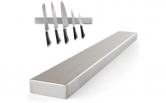 Messen magneet RVS – 100% magnetische messenhouder – 40 x 4,7 cm