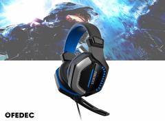 Fedec Gaming Headset - Met Microfoon