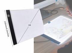 Diamond Painting Light Pad A4 - Dimbaar - 3 standen