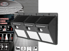 Hofftech Solar LED Buitenlampjes met bewegingsmelder - 3 stuks