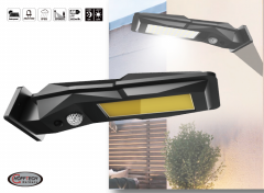 Wandlamp lantaarn solar LED - Met PIR Sensor