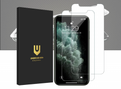 Iphone 11 Pro/XS/X Screenprotector - Tempered Glass - 2-pack