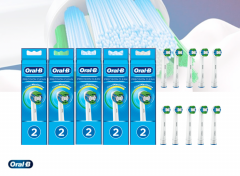 Oral-B Opzetborstels Precision Clean - Set van 10 opzetborstels!
