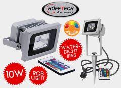 Höfftech LED Straler - RGB - Inclusief Afstandsbediening