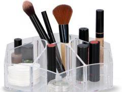 Transparante organizer voor je make-up