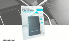 Soundlogic powerbank creditcardformaat