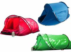 Pop-up Tent 2-Persoons - 220x160x90cm - Verschillende Kleuren
