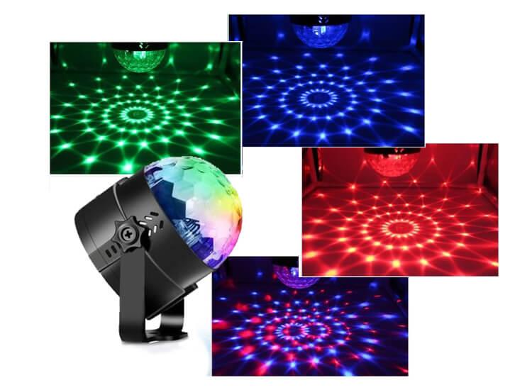 Discolamp met afstandsbediening - Leuke lamp voor feestjes en partijen