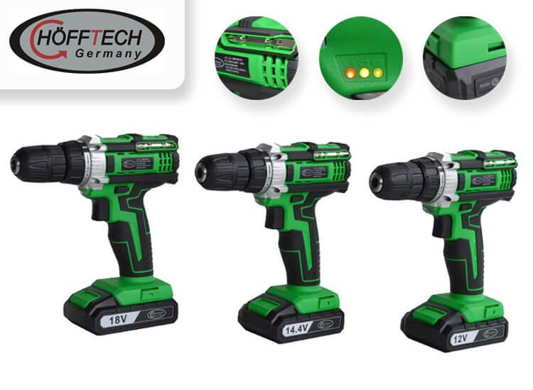 H�fftech Accuboormachine - keuze uit 3 modellen