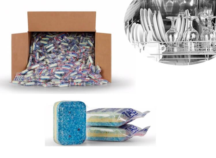Vaatwastabletten 500 stuks - 3 laags - schoonmaak, glans en ontkalken