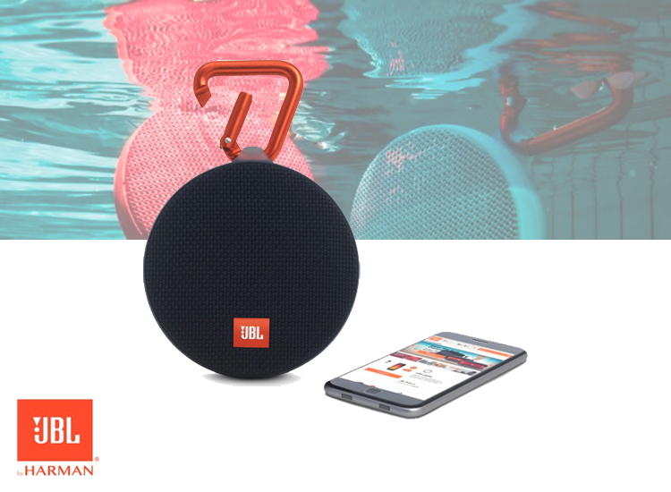 JBL Clip 2 Bluetooth Mini Speaker - Robuust En Volledig Waterdicht