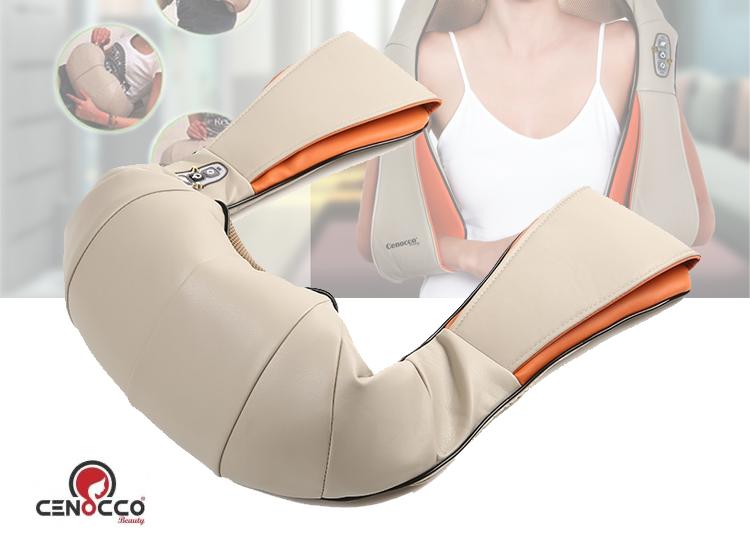 Cenocco Beauty CC-9042 Nekmassager - Massagekussen - Beige