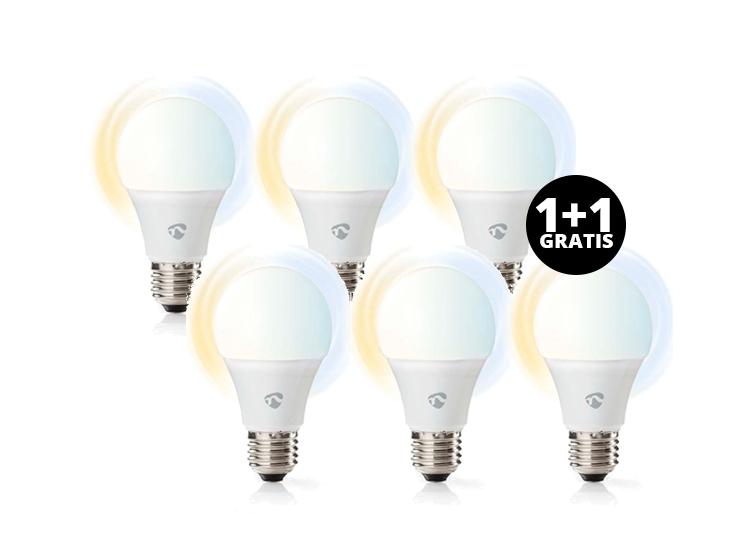 Nedis SmartLife LED Bulbs 3 pack - Dimbaar 1+1 Gratis