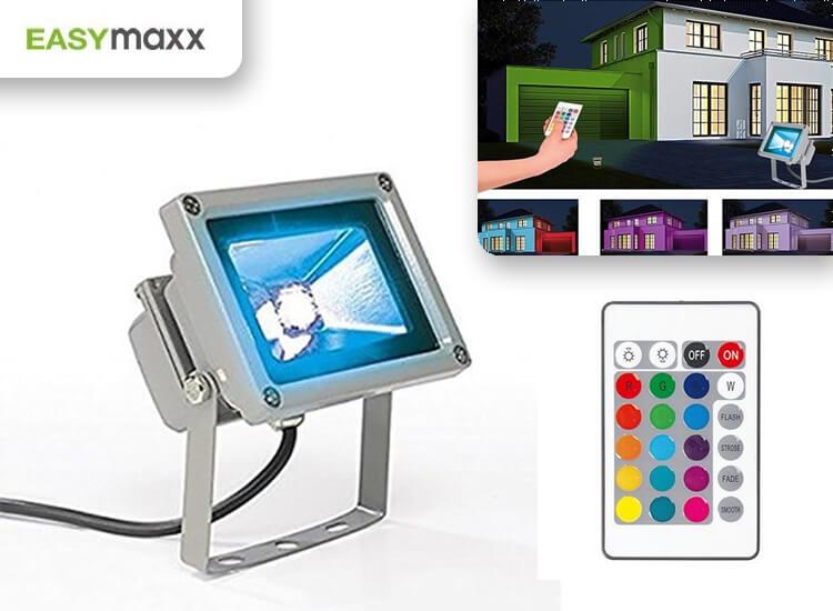 Afbeelding van Easymaxx LED Lamp 16 Kleuren Binnen & Buiten verlichting IP65
