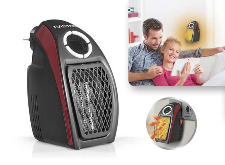 Easymaxx Mini heater - stopcontact verwarming