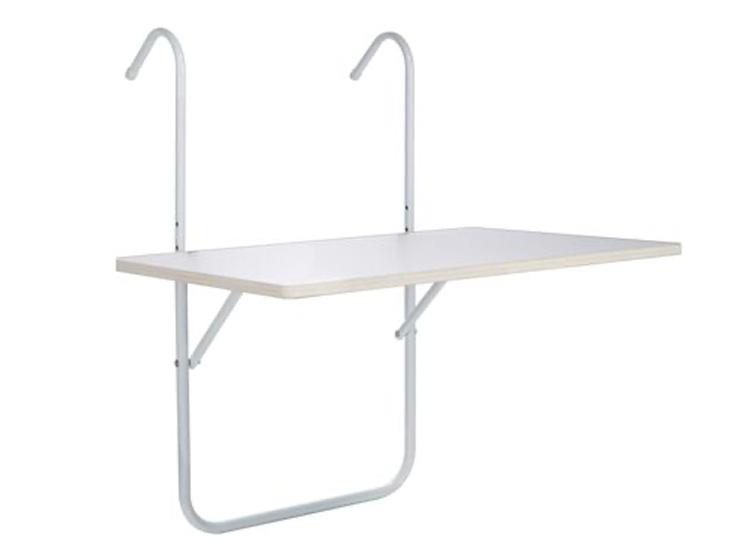 Balkon opklap tafel (balkontafel) - Inklapbaar - Hangend