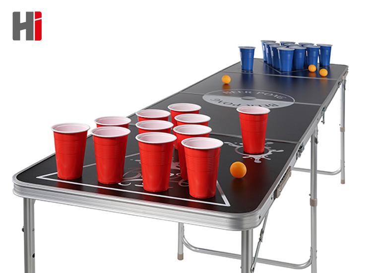 Opvouwbare en Draagbare Bierpong Tafel - Beer pong table